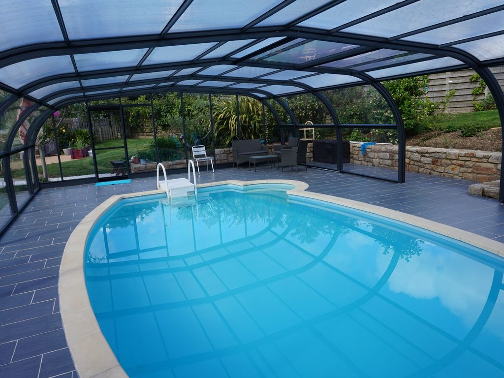 Property Image#4 SEASIDE HOUSE WITH COVERED SWIMMING POOL 10 To 12 People