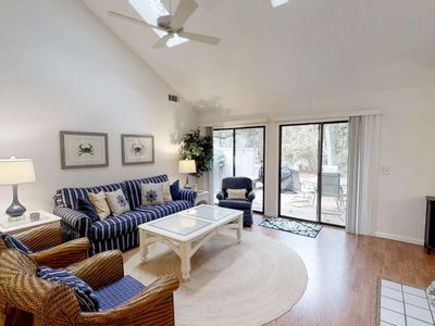 Photo for Neighborhood Pool & Tennis, 2 minutes to Beach or Harbourtown - Clean, Comfortable & Casual Home