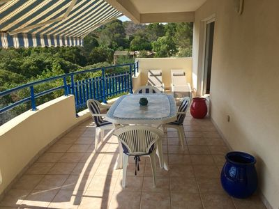 Photo for APARTMENT F3 crossing, two terraces 50m from the beach