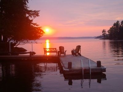 Photo for Westview~Beautiful 3 bedroom 1 bath cottage on Lake Rosseau