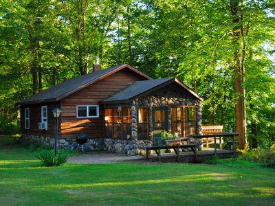 Photo for Vacation Memories Begin at This Beautiful, Comfortable Northwoods Retreat