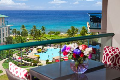 Fantastic ocean view from your private lanai