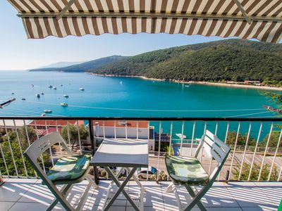 Photo for Holiday apartment with balcony with sea view