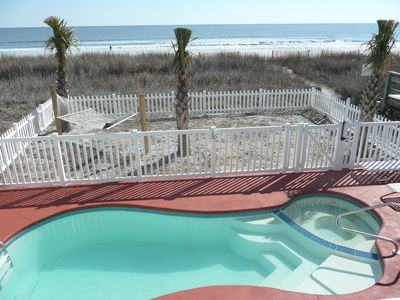Photo for Oceanfront 5 bedroom, 3 bath, private pool, hot tub!