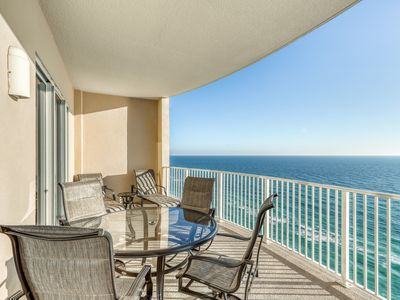 Photo for Gulf front condo w/marvelous ocean and beach views and shared pool & hot tub!