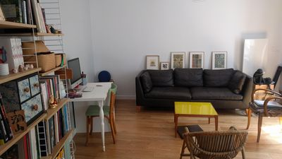 Photo for Sunny cozy flat between Père Lachaise and Nation