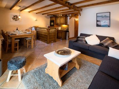 Photo for 6 Person spacious Apartment Charpentier. In the resort of Ste Foy. With balcony