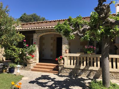 Photo for Spacious house with pool 5min from Uzès