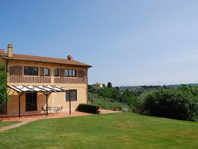 Photo for 2 bedroom Villa, sleeps 4 in Nebbiano with Pool