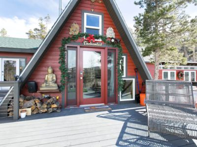 Photo for Continental Divide View A Frame Cabin