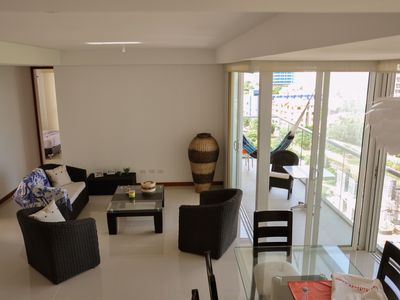 Photo for SANTA MARTA playa Bello Horizonte, apartment nuevo - 5 personas