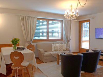 Photo for Apartment Chesa Sur Ova 30  in St. Moritz, Engadine - 4 persons, 2 bedrooms