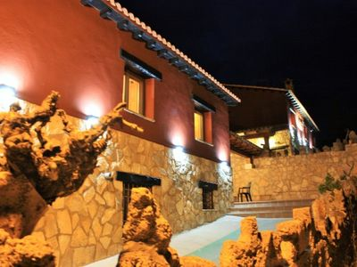 Photo for El Escalerón II House | Accommodation The Toba. Patio, barbecue and fireplace