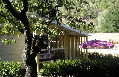Photo for Camping L'Oree des Cevennes ** - Chalet 3 Rooms 5 Persons