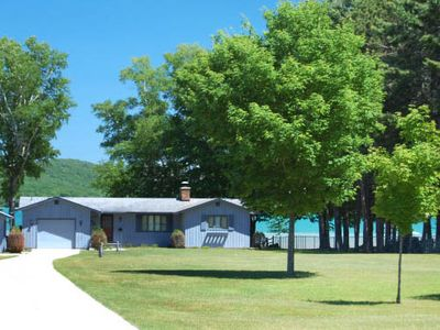 Photo for Cute, Comfortable & Clean Retreat on Little Glen Lake across from Dune Climb