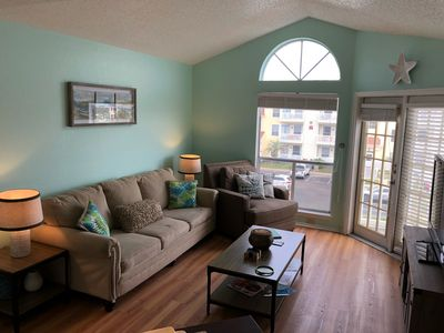 Photo for 1B/1B 3rd Floor Condo w/Gorgeous Views and 1 Blk from the Beach, Great Amenities
