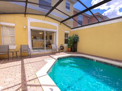 Photo for Magical 3Bdr 2bth for 6ppl with Pvt Pool With Huge Clubhouse and amenities near Disney Parks