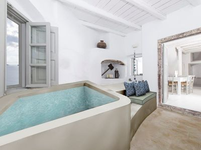 Photo for 'Marble Sun Villa' With Jacuzzi In Oia
