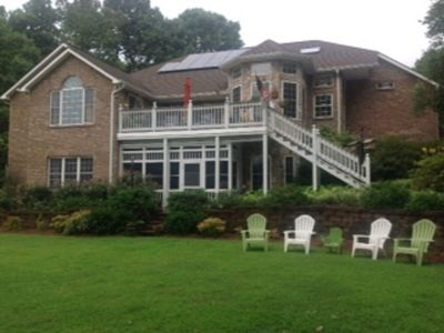 Photo for Lake Lovers Haven is a  lake front home on Lake Wylie in South Carolina.
