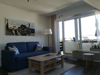 Photo for Haus Kogge, 3 star apartment Small Pearl for 2 people with balcony and bicycles