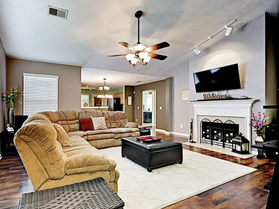 Living Room - Welcome to Mount Juliet! This home is professionally managed by TurnKey Vacation Rentals.