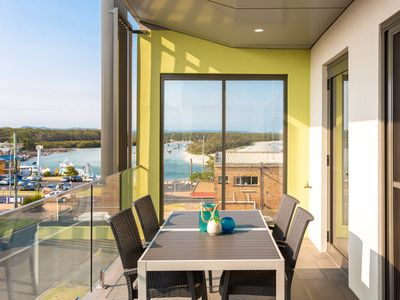 Photo for 9. Beautifully Appointed, Perfectly Located Apartment with Glorious Views Over Currambene Creek