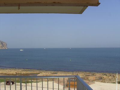 Photo for Fall asleep to the sound of the ocean and wake to superb views of Javea