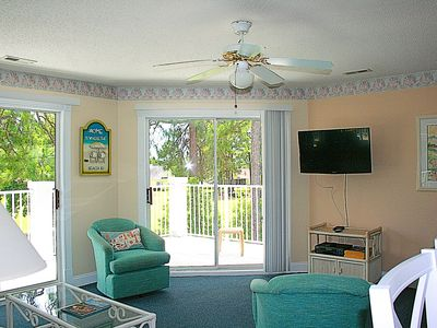 Photo for Golf View, 2 Bedroom, 2 Bath, Full Kitchen, W/D, Brunswick Plantation Resort and Golf(709)
