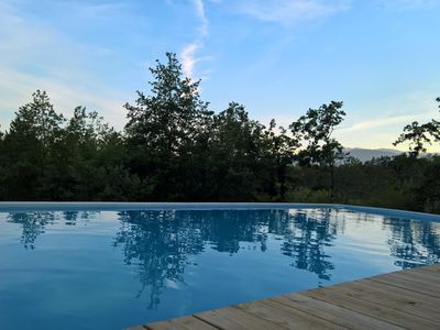 Photo for 4* 10P gite in the nature-heated swimming pool