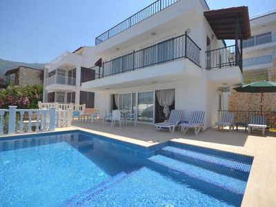Photo for Kalkan Villa Beach Pearl