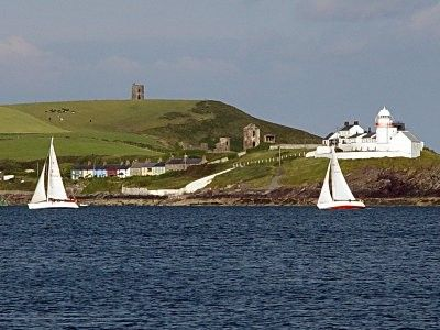 Roches Point from the sea