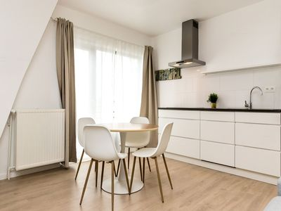 Photo for Cigno - Beautiful 1bdr apartment in the heart of EU District, Brussels