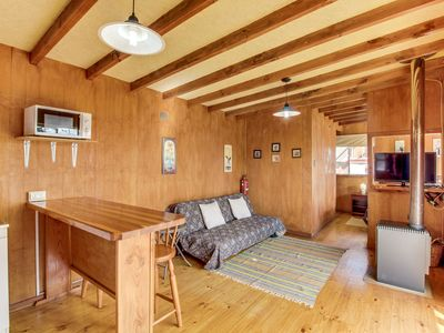 Photo for Cozy, rustic dog-friendly condo features lovely natural views!