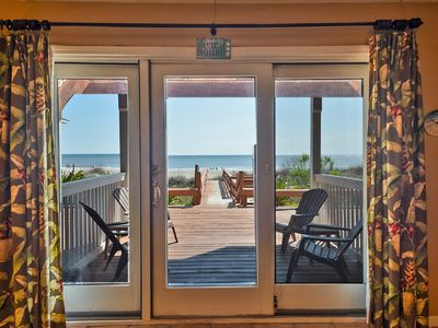 Photo for Beautiful Oceanfront Condo, First Floor And Pet Friendly