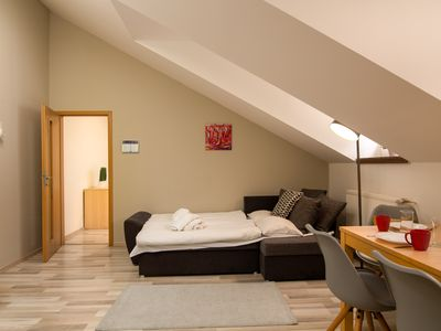 Photo for Soukenicka Apartcomplex Yard Prospect CZPR63 - Aparthotel for 4 people in Praha