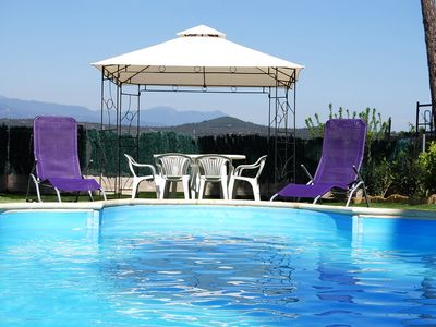 Photo for Club Villamar - Typical Spanish Villa in a quiet environment with private pool and beautiful view...