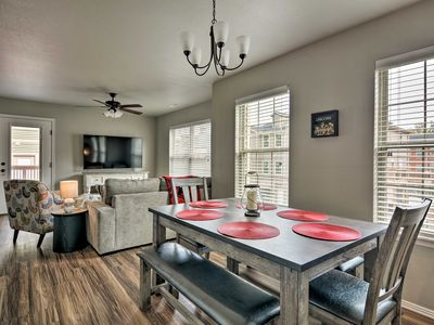 Photo for NEW! Newly Built Townhome - 3 Mi. to UARK Campus!