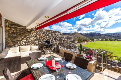 Dine Al Fresco from the BBQ and enjoy the stunning views from balcony terrace