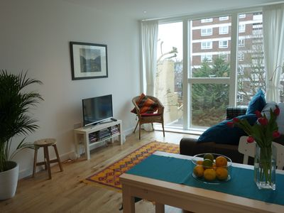 Photo for Stylish Modern Flat with Parking in West London.