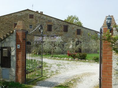 Photo for Maremma 1 apartment in ancient farm in Tuscany
