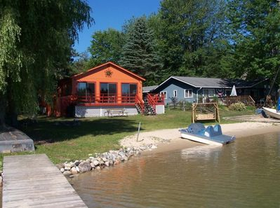 View of the property from end of dock