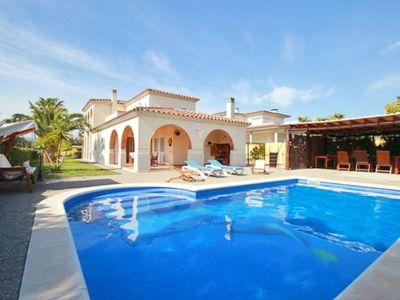 Photo for Club Villamar - Charming villa with wifi, lovely garden with large swimming pool, children playgr...
