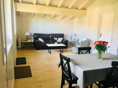 Photo for Cozy apartment 30 mins from Geneva