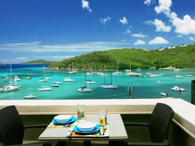 Photo for Come enjoy our Penthouse Condo! Walk to Cruz Bay.