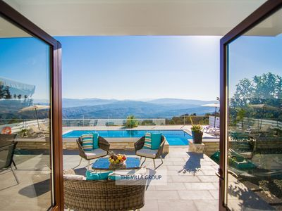 Photo for Theletra Villa, Sleeps 6 with Pool, Air Con and WiFi