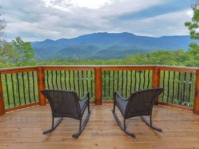Photo for Eden's View Lodge BRAND NEW for May 2019, 4 BR 3 1/2 BA Private, Million $ Views