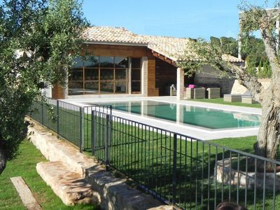 Masia de Lavell is a beautiful and very luxurious holiday home for 15(+5) guests