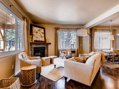 Photo for Breathe in the High Alpine Forest w/ Private Hot Tub and Fabulous Decor Mins. to Breck - by iTrip