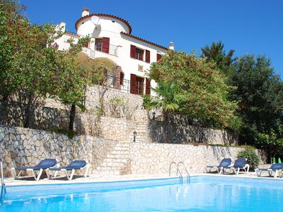 Photo for Beautiful villa with private swimming pool and lovely garden near historic Calonge
