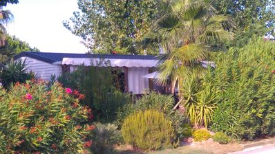 Photo for Mobile home beach Pampelonne Ramatuelle 4 persons